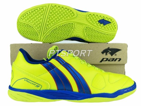 รองเท้ากีฬา รองเท้าฟุตซอลเด็ก PAN PF-14S5 เหลืองกรมYD