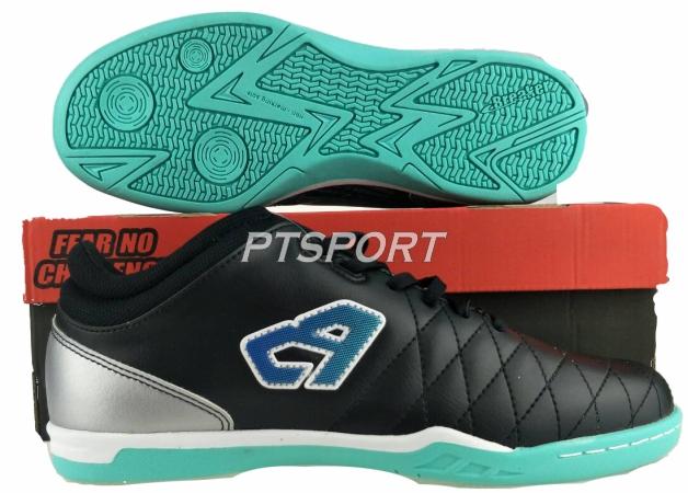 รองเท้าฟุตซอล Breaker รุ่น BK-1111 สีดำ
