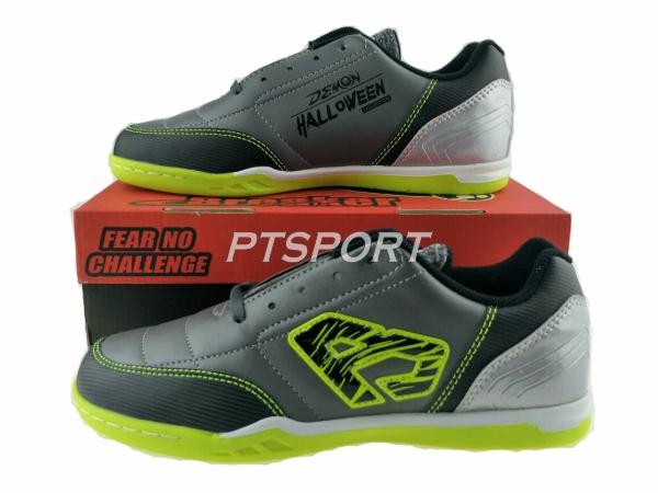 รองเท้ากีฬาฟุตซอล Breaker Demon Halloween BK-1110  สีเทา