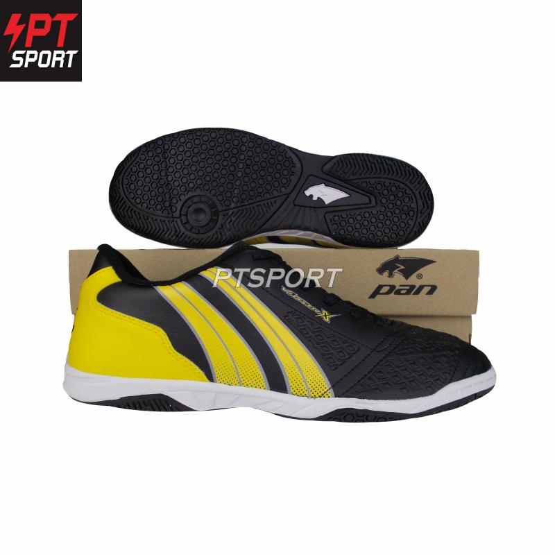 รองเท้ากีฬา รองเท้าฟุตซอลเด็ก PAN PF-14JA สีดำเหลือง,AY