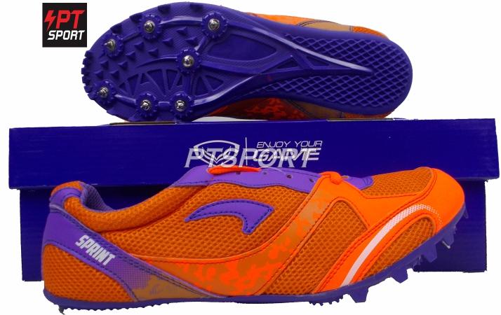 รองเท้ากีฬา รองเท้าตะปูสำหรับวิ่ง GRAND SPORT 370032 สีส้ม