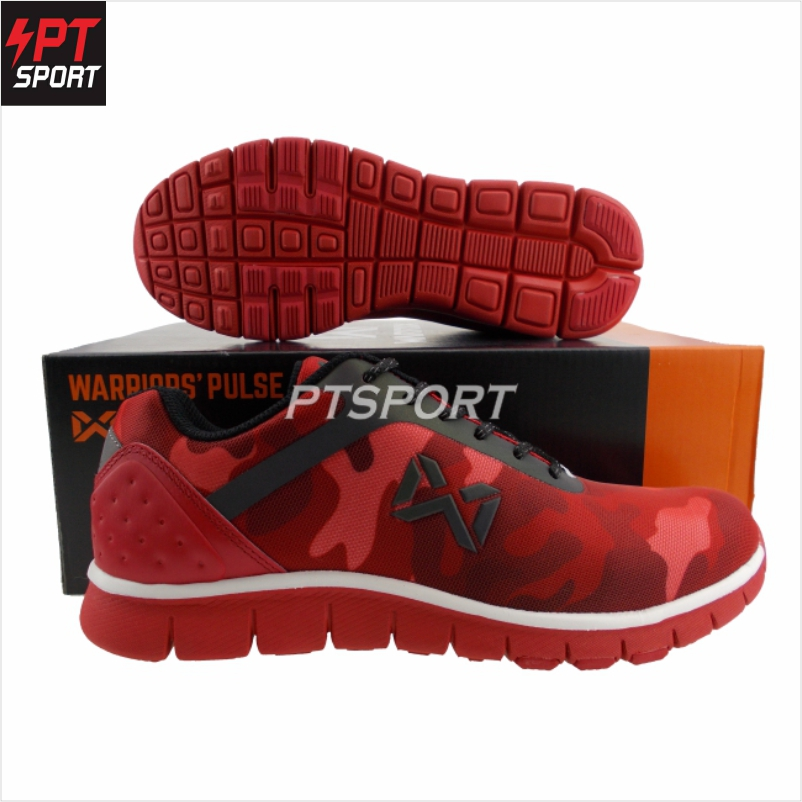 รองเท้ากีฬา รองเท้าวิ่ง WARRIX WF-1306 สีแดง