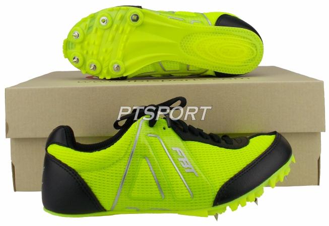 รองเท้ากีฬา รองเท้าวิ่งตะปู FBT wIN-2 สีเขียวดำ