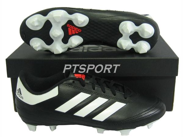 รองเท้าฟุตบอล รองเท้าสตั๊ด ADIDAS AQ-4281 GOLETTO VI FG ดำขาว