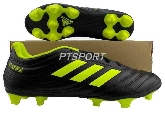 รองเท้ากีฬา รองเท้าสตั๊ด ADIDAS BB-8091 COPA 19.4 FG ดำเหลือง