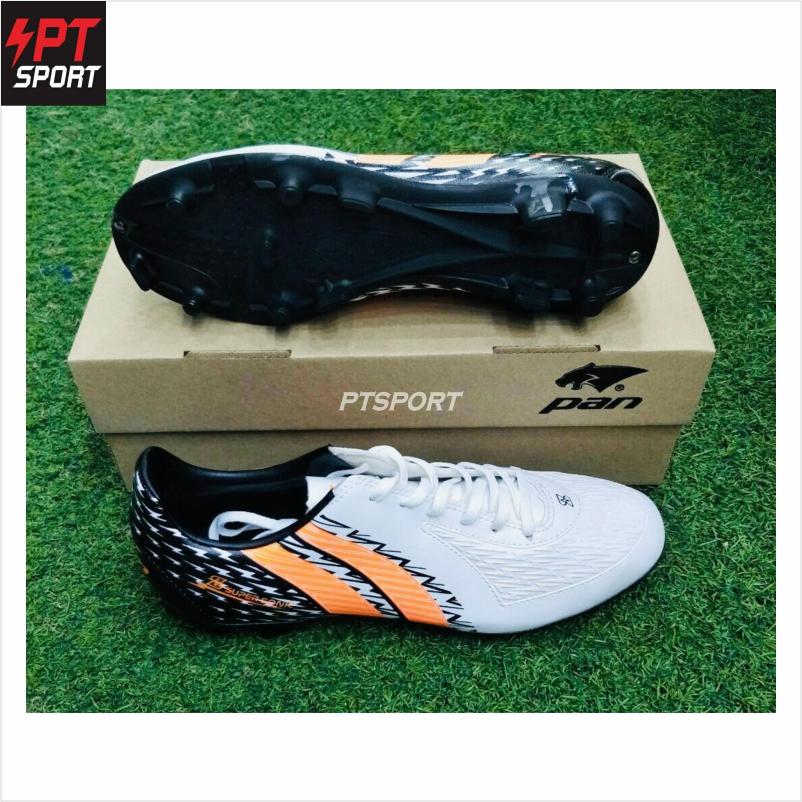 รองเท้ากีฬา รองเท้าสตั๊ด PAN PF-1572 ขาวดำ WA