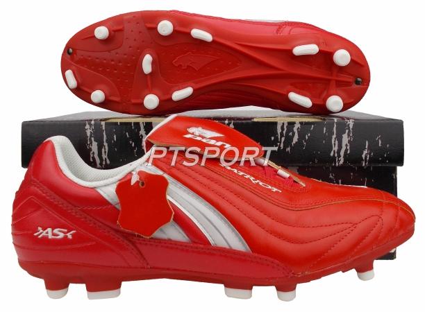 รองเท้ากีฬา รองเท้าสตั๊ด PAN PF-15Q7 PATRIOT M SEMI NAPPA SHOES แดงขาว