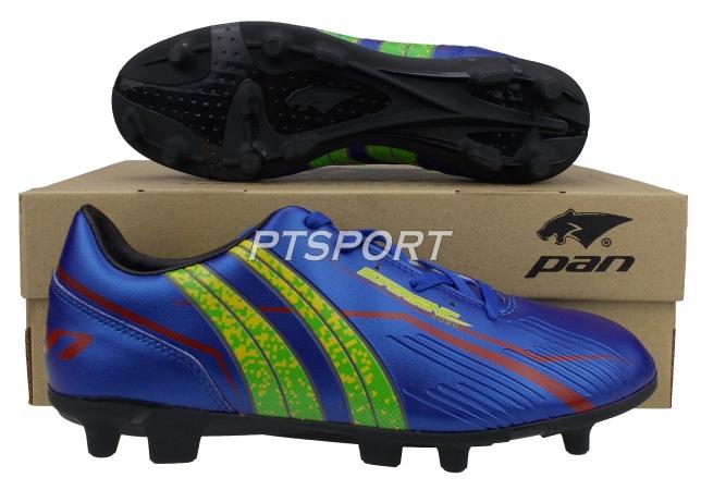 รองเท้ากีฬา รองเท้าสตั๊ดเด็ก PAN PF-15AT SUPER SONIC VIPER KING III PRIMAIR JR. สีน้ำเงินเขียว