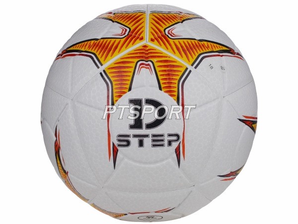 ลูกฟุตบอลหนังอัด เบอร์5 Football D-STEP DB-11109 ขาว