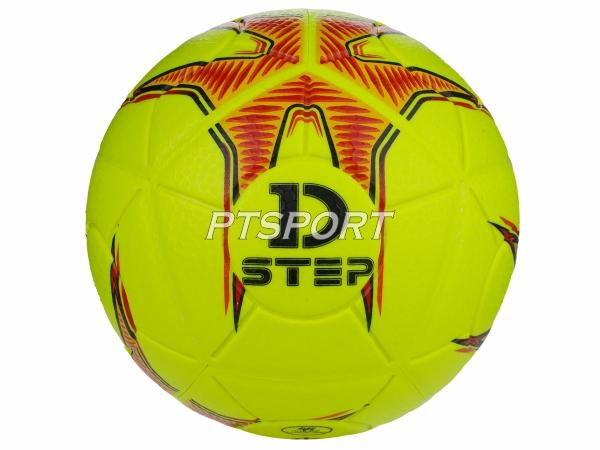 ลูกฟุตบอลหนังอัด เบอร์5 Football D-STEP DB-11109 เหลือง