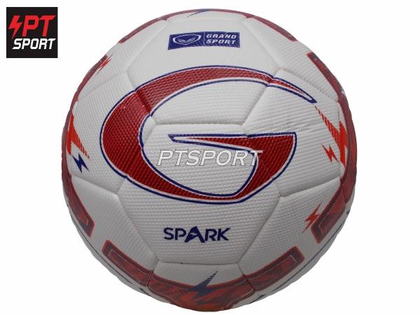 ลูกฟุตบอลหนังเย็บ 331097 ขาวแดง เบอร์5