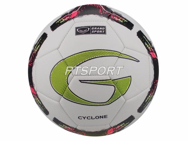 ฟุตบอลหนังเย็บMS GRAND SPORT 331374 CYCLONE เบอร์ 5 สีขาว