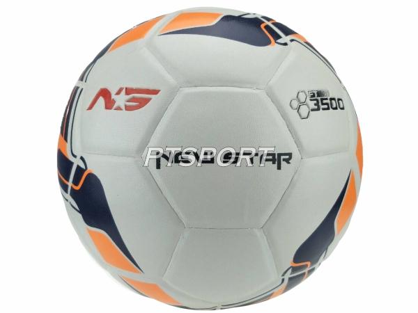 ฟุตบอลหนังอัด NEW STAR 3500 เทา เบอร์5
