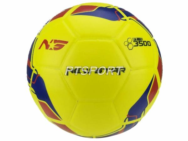 ฟุตบอลหนังอัด NEW STAR 3500 เหลือง เบอร์5