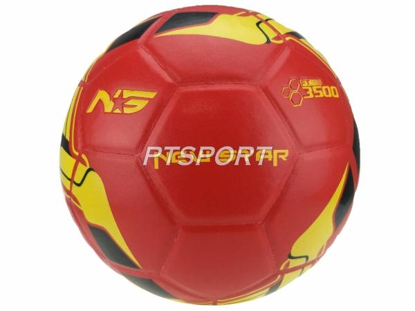 ฟุตบอลหนังอัด NEW STAR 3500 แดง เบอร์5