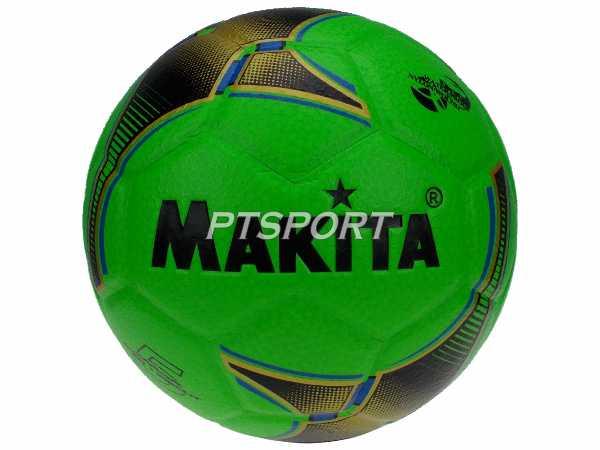 ลูกฟุตบอล หนังอัด MAKITA B-242 สีเขียว เบอร์ 5