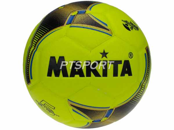 ลูกฟุตบอล หนังอัด MAKITA B-242 สีเหลือง เบอร์ 5