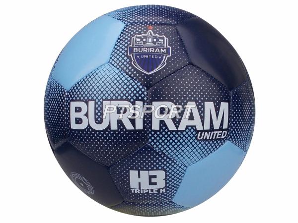 ฟุตบอลหนังเย็บBURIRAM H3 สีกรม เบอร์4