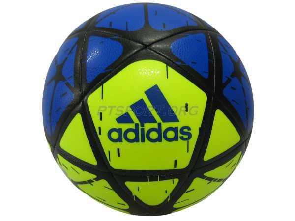 ลูกฟุตบอลหนังเย็บ adidas CW-4170 ADIDAS GLIDER เหลืองน้ำเงิน