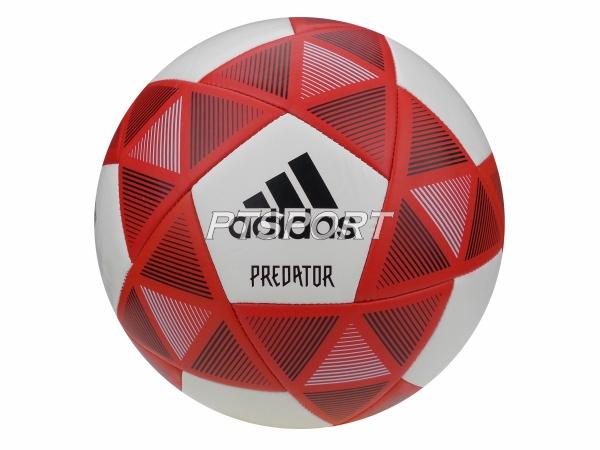 ลูกฟุตบอลหนังเย็บ ADIDAS CW1185 PRED GLIDER เบอร์ 5 สีแดงขาว