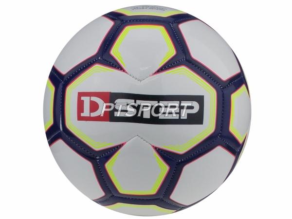 ลูกฟุตบอลหนังเย็บ TPU เบอร์5 D-STEP DB-12203 ขาวกรม