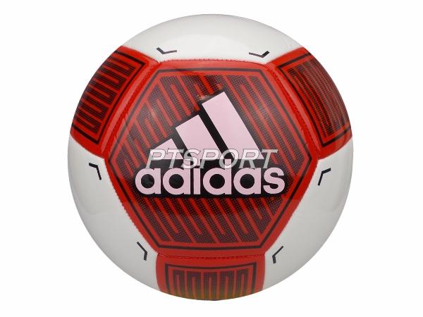 ฟุตบอลหนังเย็บ ADIDAS DY2518 STARLANCER VI สีขาวแดง เบอร์5