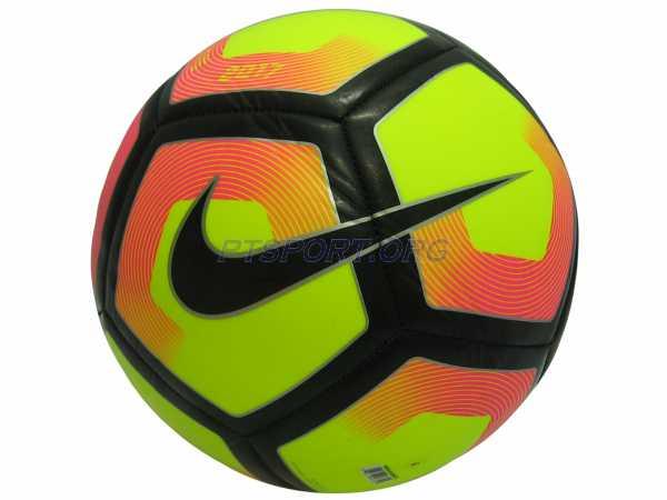 ลูกฟุตบอลหนังเย็บ เบอร์ 5 NIKE SC2993-702 PITCH เหลือง-แดง