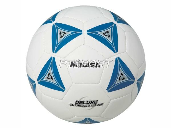 ลูกฟุตบอลหนังเย็บ Football มิกาซ่า MIKASA SS50-B ขาวน้ำเงิน