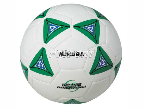 ลูกฟุตบอลหนังเย็บ Football มิกาซ่า MIKASA SS50-G ขาวเขียว