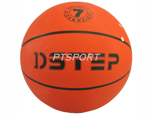 ลูกบาสเกตบอลยาง Basketball D-STEP DB4000 RUBBER