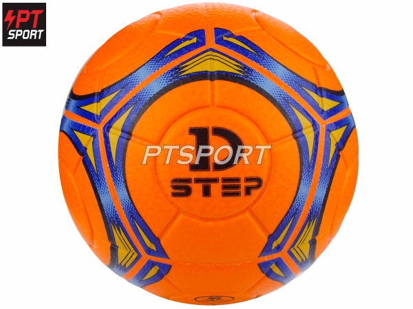 ลูกฟุตซอล หนังอัด D-STEP 21108 เบอร์3.5 สีส้ม