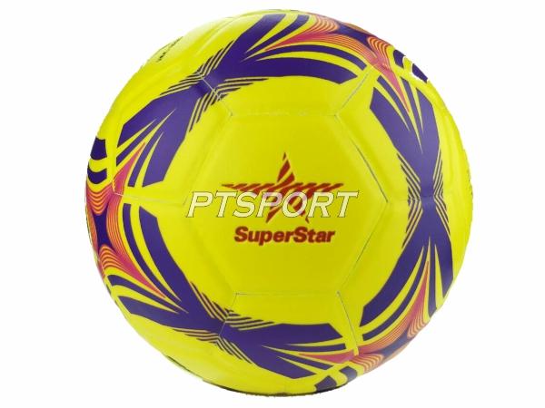 FBT ฟุตซอลหนังอัด SUPER STAR รุ่นFS2800 เหลือง