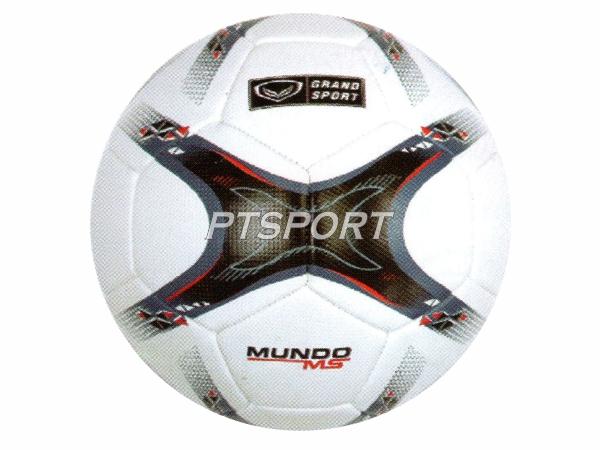 GRAND SPORT 331080 ลูกฟุตบอลหนังเย็บเครื่อง รุ่น MUNDO MS เบอร์ 5