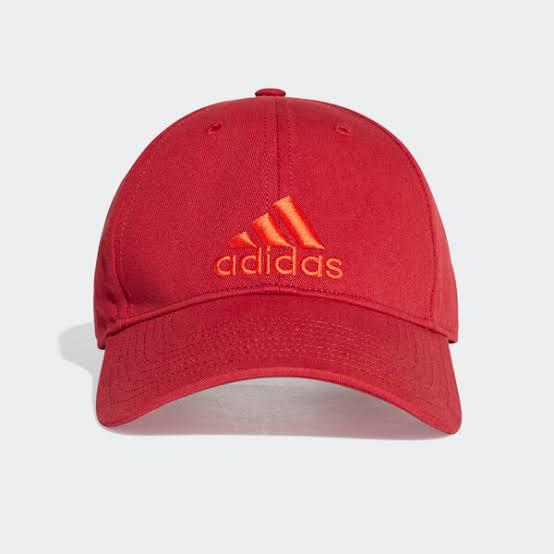 หมวกแก๊ป ADIDAS EA0438 6P CAP COTTON แดง