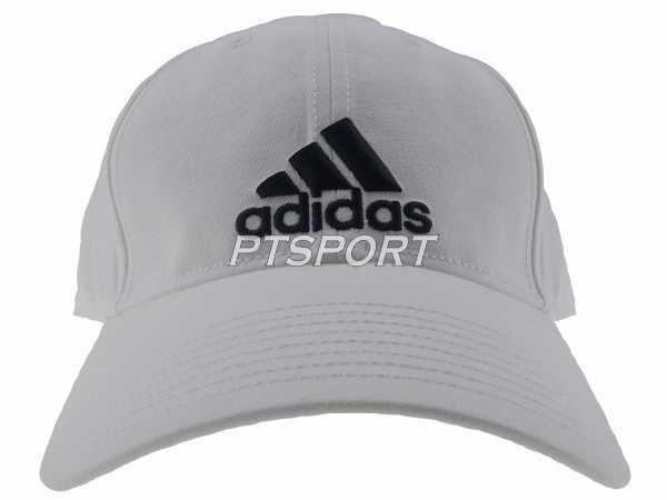 หมวกแก๊ป ADIDAS S98150 6P CAP COTTON ขาว