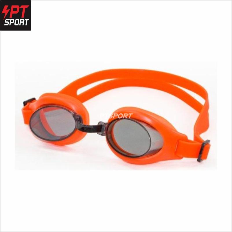 Grand sport แว่นตาว่ายน้ำเด็ก รุ่น 343387 สีส้ม