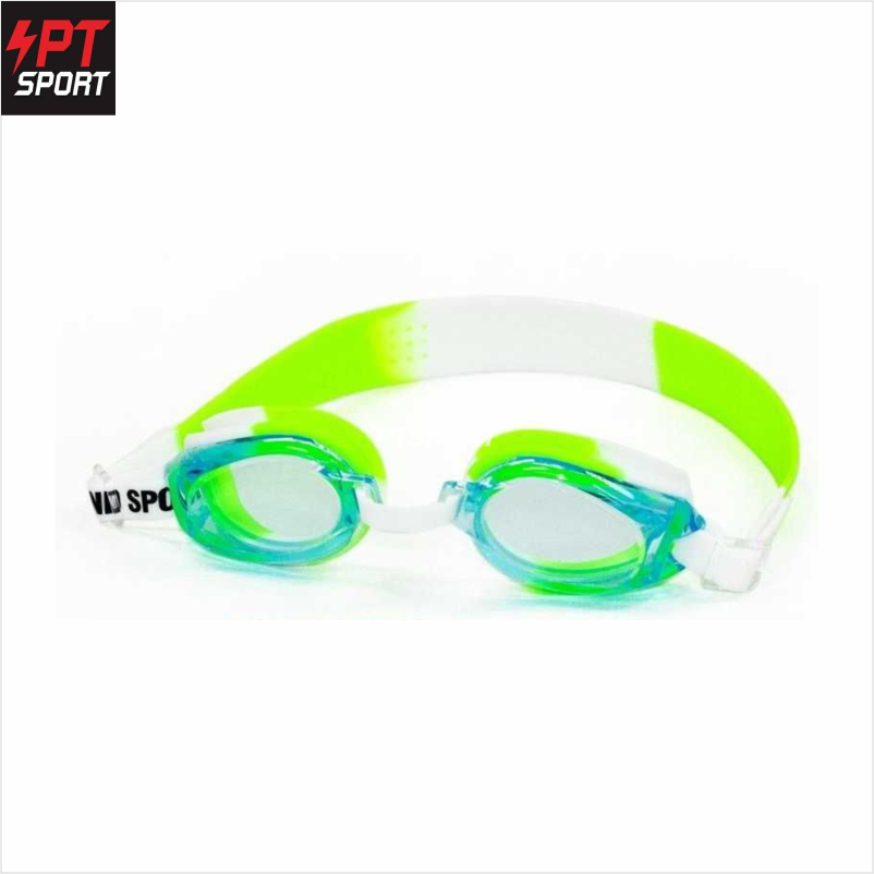 Grand sport แว่นตาว่ายน้ำเด็ก รุ่น 343388 สีเขียว