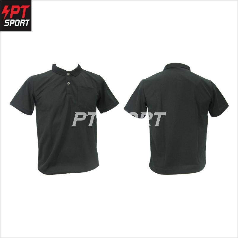 เสื้อกีฬาคอโปโลชาย GRAND SPORT 012-551 ดำ