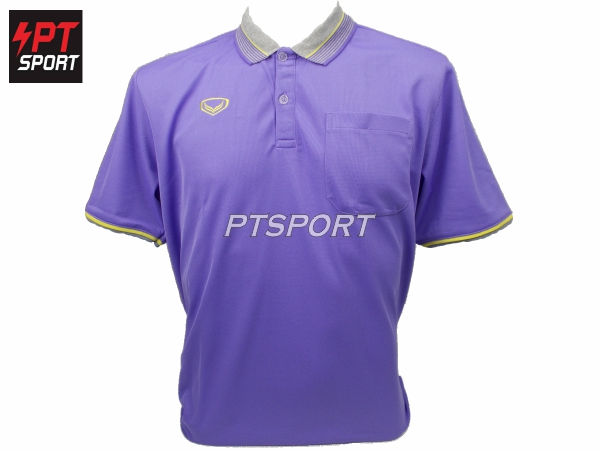 เสื้อคอปกโปโลชาย GRAND SPORT 012-568 สีม่วง