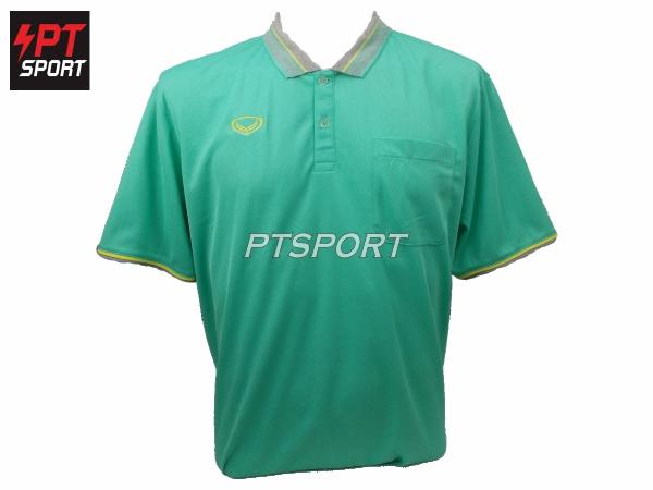 เสื้อคอปกโปโลชาย GRAND SPORT 012-568 สีเขียว