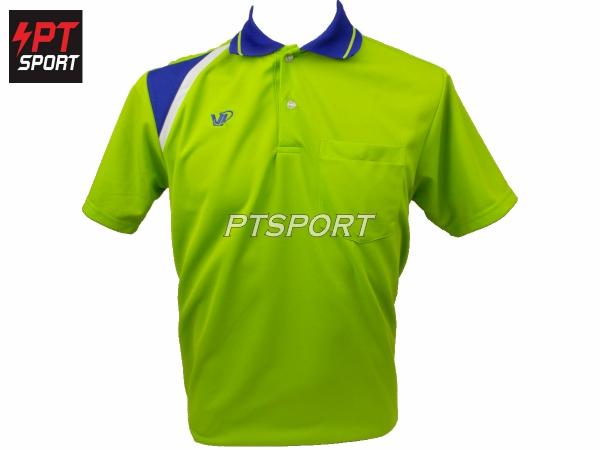 เสื้อคอปกโปโล V.P.SPORT VP811 สีเขียว